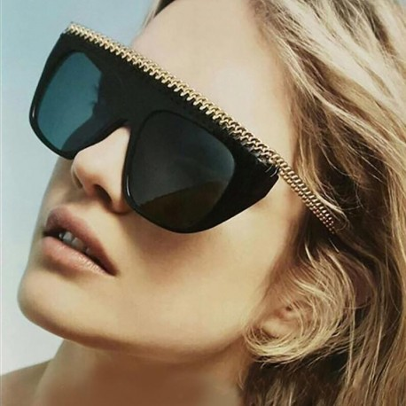 Oversize Acetate Squrae Sun glasses Sexy Shades ss044
