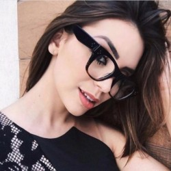 Fashion Women Glasses Frame Men Eyeglasses Optical  Frame Vintage Round Clear Lens Myopia Prescription Glasses Accessories