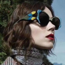2018 Fashion Cat Eye Sunglasses Women Luxury Brand Designer  Unique Sun Glasses For Female Colorful Frames Spectacles UV400