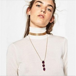 New Z choker necklace fashion necklace collar good quality torques statement necklace choker