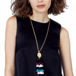 JUJIA NEW Z fashion multilayer tassel pendant necklace collar Necklaces & Pendants costume long statement Necklaces for women