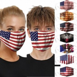 Fashion 1pc Nation Flag Dustproof Windproof Foggy Haze Anti-spitting Protective Mask Protective Face Cover Anti-spit Breathable