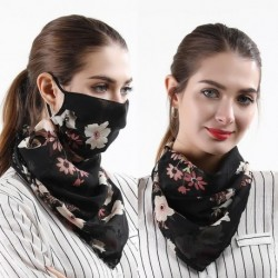 Summer Women Face Mask Cycling Windproof UV Protection Outdoor Anti Dust Mouth Mask Climbing Hiking Fishing Printed Neck Scarves