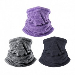 Winter Warm Collar Neck Gaiter Soft Fleece Scarf Windproof and Coldproof Warmer Face Mask for Outdoor Sports Hiking Scarves