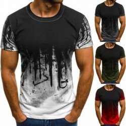2018 Men T Shirts Round Neck Short Sleeve Ink Printed Casual Fashion Male Tee Tops Summer Mascle Bodybuilding Slim Fit T-shirt