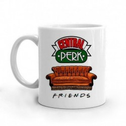 Central Perk Friends Mugs Travel Beer Porcelain Coffee Tea Kitchen Cup Friends Gift