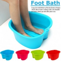 Foot Care Bath SPA Plastic Practical Thicken Tub Foot Soak Basin Pedicure Detox Massage Feet Household Supplies