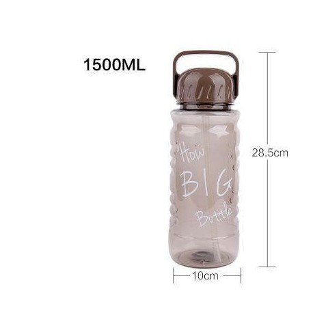 Hot 2L large capacity Creative Bicycle sport outdoor travel plastic my water bottle portable handle Tea strainer straw kettle