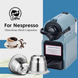 iCafilas Vip Link Coffee Capsule For Nespresso Refillable Pod Stainless Steel Espresso Coffee Filters kapsułki nespresso