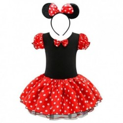 2020 Summer New kids dress minnie mouse princess party costume infant clothing Polka dot baby clothes birthday girls tutu dresse
