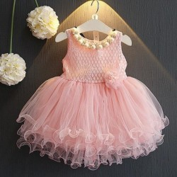 Baby Girl Gown Lace Dresses Summer Kids Flower Dress For Girls 2018 Bebes Vestido Bridesmaid Tutu Dresses Hot Sale Formal Dress