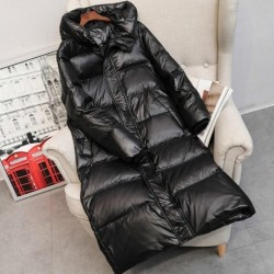 2020 Hot Coat Jacket Winter Women Hooded Parkas Hight Quality Female Winter White Duck Down Female Thick Warm Down Coat