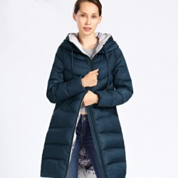 2020 New Winter Jacket Women Plus Size Long Thick Fashion Womens Winter Coat Hooded Down Jackets Parka Femme Docero