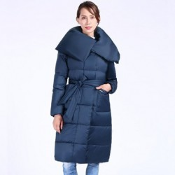 2020 New Winter Women's Coat Plus Size Hooded Fashion Warm Women Down Jacket High-quality Biological-Down Female Parkas Docero