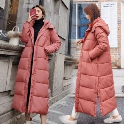 Autumn Winter 2020 female Jacket Hooded Mid-length Parkas Coat Korean New Thick Warm Loose Casual Oversized Women jacket A13