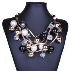 Chokers Multilayer Design Women's Pearl Necklaces