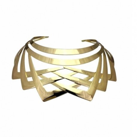Geometric Collar Statement Necklace Jewelry Wholesale