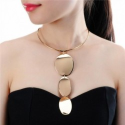 Necklace Alloy Long Pendants Statement Necklaces Metal Jewelry Accessories