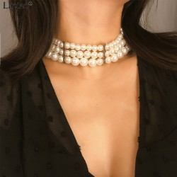Necklaces Statement  Women Fashion Alloy Clavicle Chain Necklace Jewelry