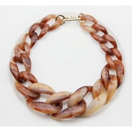 Statement Acrylic Long Chain Necklace For Women