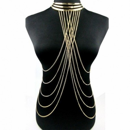 Tassel Necklace Pendants Long Necklaces  Beach Sexy Statement Punk Jewelry