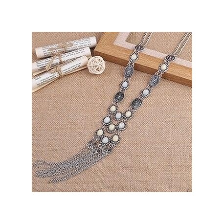 tassel necklace trendy statement necklaces for women jewelry