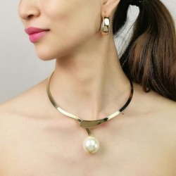 Women Statement Alloy Collar Necklace Girl Jewelry