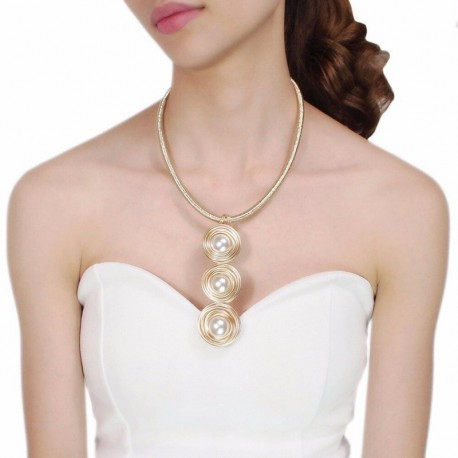 Women Statement Jewelry Handmade Wrap Wire Rope Chain Long Pendants Maxi Necklace