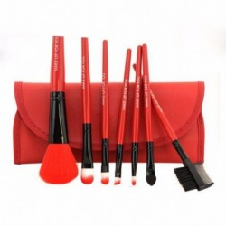 Pro Makeup Brushes 7 pcs Set Powder Foundation Eyeshadow Eyeliner Lip Brush Tool