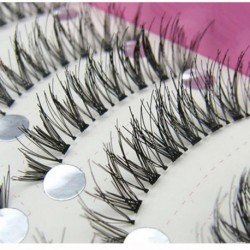 Women's Fashion New Japanese Style Black 10 Pairs High-quality Eyelashes HS-08