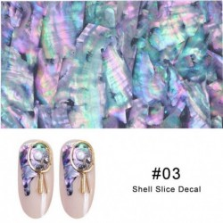1Pc 3D Pearl Nails Polish Foils Glimmer Abalone Shell Pattern Nail Stickers Wraps Marble Mermaid DIY Nail Art Decoration