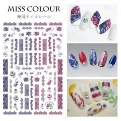 1pc Beauty Nail Stickers Polish Gel Foils Colorful Gold Silver Stickers Decal Manicure Gilding Glitter Nail Art Tools Tips