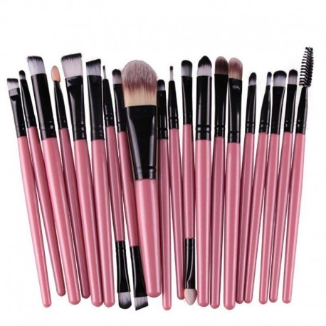 20pcs Make Up Powder Cosmetic Brushes Tools Eyeshadow Eyeliner Brush Set pincel maquiagem makeup brushes