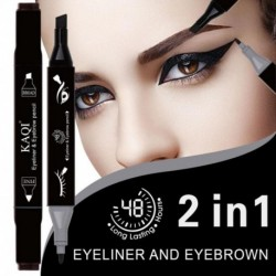 New Waterproof Eyeliner Easy to Makeup Vamp Stamp Cat Eye Wing Eyeliner Stamp Tool 1 Second Makeup Kit