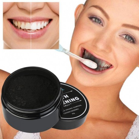 30g Teeth Whitening Powder Natural Organic Activated Charcoal Bamboo Toothpaste Scaling Oral Hygiene Cleaning Packing Premium