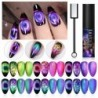 LILYCUTE 9D cat magnetic UV Gel Soak Off UV LED Nail Polish Magnet Laser Shining Colorful Nail Art Varnish All For Nails Design