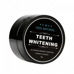 New Arrival Teeth Whitening Powder Natural Organic Activated Charcoal Bamboo Toothpaste Plaque Tartar Removal Coffee Stains