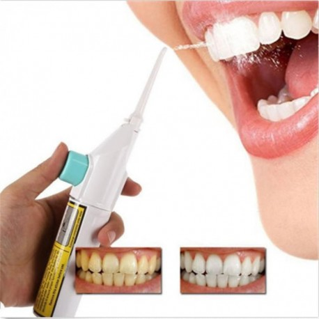 Interdental cleaning Portable Power Floss Dental Water Jet Cords Tooth Pick Braces No Batteries q70922