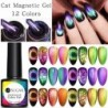 UR SUGAR 7.5ml 9D Chameleon Cat Magnetic Nail Gel Soak Off UV Gel Nail Polish Romantic Shining Gel Lacquers Black Base Need