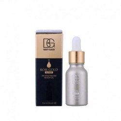 24k Rose Gold Elixir Radiating Moisturize 15ml face care Essential Oil Makeup primer Makeup base