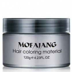 Hair Color Wax Dye One-time Style Styling Products Molding Paste Seven Colors Hair Dye Wax EE5