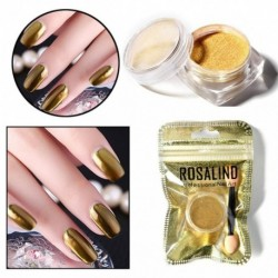 ROSALIND Women Mirror Powder Effect Chrome Nails Pigment Gel Polish DIY 180119 free shipping drop ship