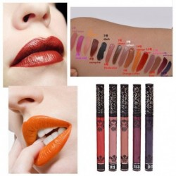 2017 Red Tattoo Waterproof Non-stick Matte Liquid Lipstick Nude Color Lip Gloss Makeup Sets Batom