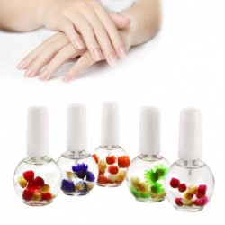 Nail Oil Cuticle Dry Flower Nourishment Oil Nail Treatment Nutritious Oil 12ML Nail Care Supplies
