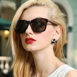 Womens Retro Square Frame Mirror Sunglasses Vintage Metal Lens Oversized Eyewear Glasses For Fashion Female 8 Colors Optional