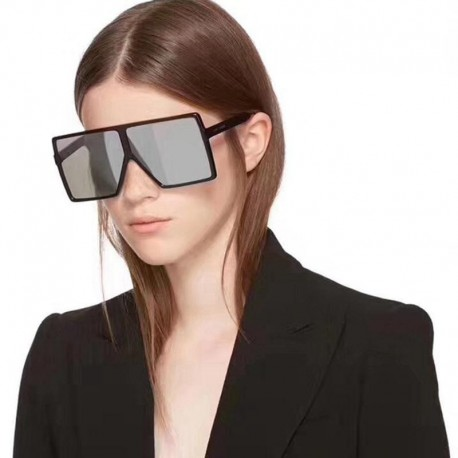 newest fashion women oversize sunglasses n square  vintage sunglasses for female shades Retro woman Spectacles