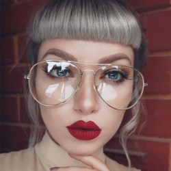 Clear Lens Women Eyeglasses Spectacle Frame Optical Glasses Frame Male Lunette Oculos Vintage Eyewear Frame Myopia Sunglasses