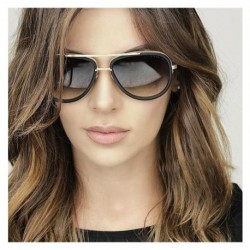 Super star Eyewear Men Women Luxury Brand Design Couple Lady Celebrity Brad Pitt Sun Glasses Flat Top Hot Square Sunglass