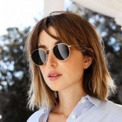New Fashion Round Sunglasses Women Brand Designer Metal Frame Mens Sun Glasses Classic Designer MA174