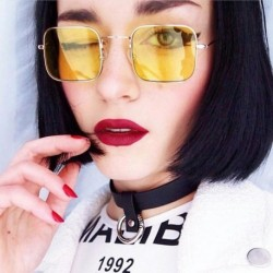 Clear Lens Small Square Sunglasses Women Men Couple Brand Retro Cute Ladies Sunglass Female Sun Glasses For Women Eyewear